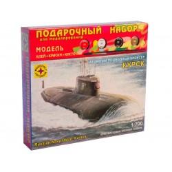 """Моделист ПН170075 Сборная модель подлодки """"Курск"""". Подарочный набор (1:700)"""