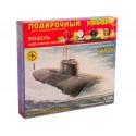 """Моделист ПН170075 Сборная модель атомного подводного крейсера """"Курск"""". Подарочный набор (1:700)"""