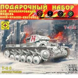 Моделист ПН303517 Сборная модель немецкого танка Т II C. Подарочный набор (1:35)