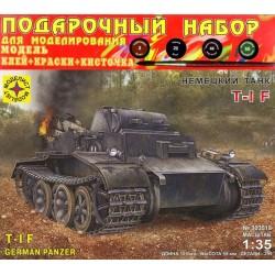 Моделист ПН303518 Сборная модель немецкого танка T-I F. Подарочный набор (1:35)