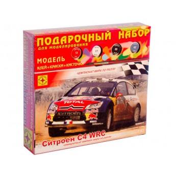 Модель автомобиля Ситроен C4 WRC (1:43). Подарочный набор.