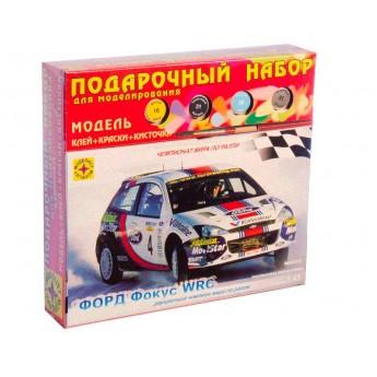 Модель автомобиля Форд Фокус WRC (1:43). Подарочный набор.