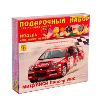 Модель автомобиля Мицубиси Лансер WRC (1:43). Подарочный набор.