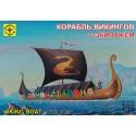 Моделист 107211 Корабль викингов с экипажем (1:72)