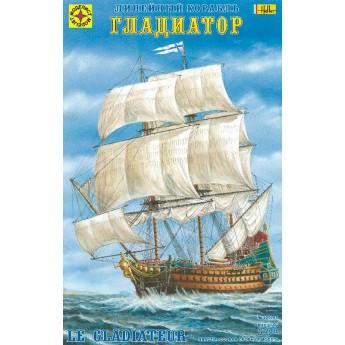 """Линейный корабль """"Гладиатор"""" (1:200)"""
