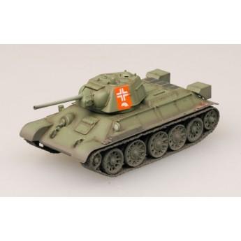 Easy Model 36268 Готовая модель танка Т-34/76 трофейный захвачен германскими войсками (1:72)