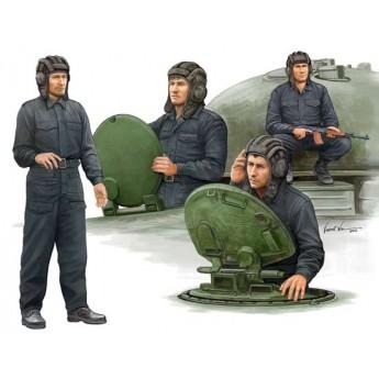 Солдаты Советский танковый экипаж (1:35)