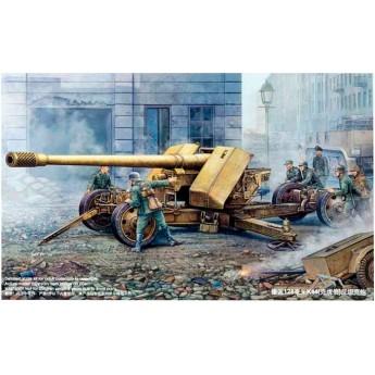 Немецкая 128-мм противотанковая пушка Pak 44 Крупп (1:35)