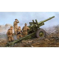 152-мм гаубица-пушка образца 1937 года МЛ-20 на лафете М-46 (1:35)