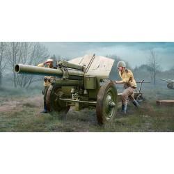 Trumpeter 02344 Сборная модель 122-мм гаубицы образца 1938 г М-30 поздний выпуск (1:35)