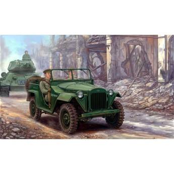 Автомобиль ГАЗ-67Б (1:35)