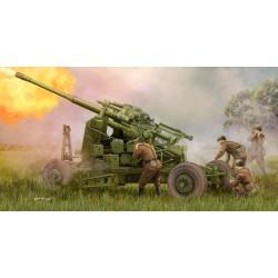 Trumpeter 02349 Сборная модель 100-мм зенитной пушки КС-19М2 (1:35)