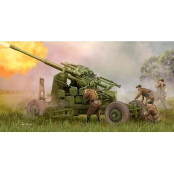 Пушка зенитная советская КС-19М2 100мм. (1:35)