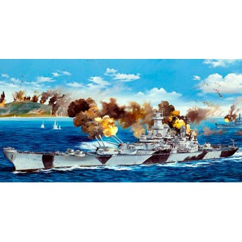 Корабль USS Iowa BB-61 (1:200)
