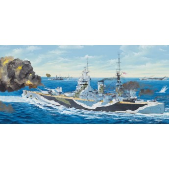 Корабль HMS Nelson 1944 (1:200)
