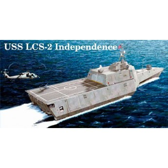 "Американский корабль-стелз LCS-2 ""Индепенденс"" (1:350)"