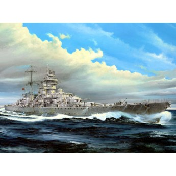 "Крейсер ""Принц Ойген"" 1945 г. (1:350)"