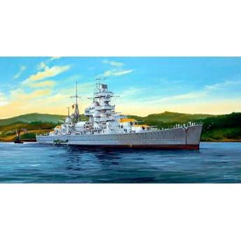 """Крейсер """"Адмирал Хиппер"""" 1941 г. (1:350)"""
