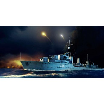 Корабль HMS Zulu Destroyer 1941 (1:350)