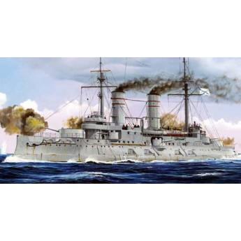 Корабль Russian Navy Tsesarevich Battleship 1917 (1:350)