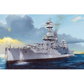 Корабль USS New York BB-34 (1:350)