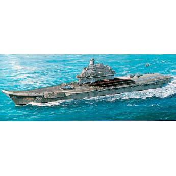 """Trumpeter 05606 Сборная модель корабля авианосец """"Адмирал Кузнецов"""" (1:350)"""