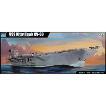 Авианосец CV-63 USS Kitty Hawk (1:350)