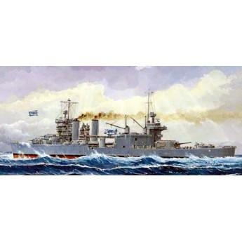 """Крейсер СА-36 """"Миннеаполис"""" 1942 г. (1:700)"""