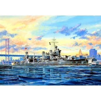 """Крейсер СА-39 """"Квинси"""" (1:700)"""