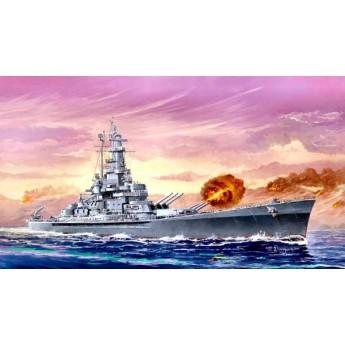 """Линкор BB-59 """"Массачусеттс"""" (1:700)"""