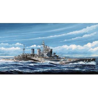 """Линкор HMS """"Ренаун"""" 1945 г. (1:700)"""
