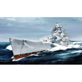 """Крейсер """"Адмирал Хиппер"""" 1940 г. (1:700)"""