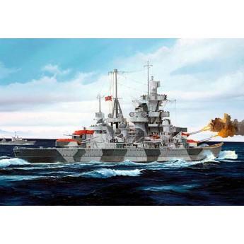 """Крейсер """"Адмирал Хиппер"""" 1941г. (1:700)"""