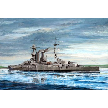 """Линкор """"Warspite"""" 1915 (1:700)"""