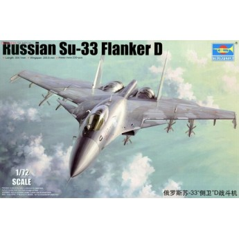 Модель самолёта С-33 Flanker D (1:72)