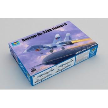 Trumpeter 01669 Сборная модель самолёта Су-33УБ Flanker D (1:72)