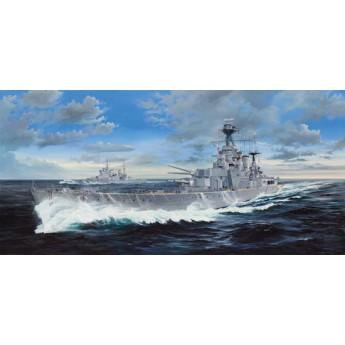 Корабль HMS Hood (1:200)