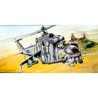 Модель вертолета Ми-24В (1:35)