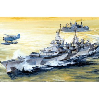 Корабль USS Indianapolis CA-35 1944 (1:350)