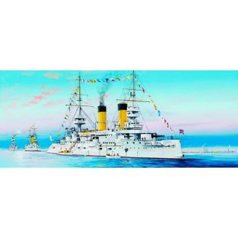 """Trumpeter 05338 Сборная модель корабля броненосец """"Цесаревич"""" 1904 г (1:350)"""