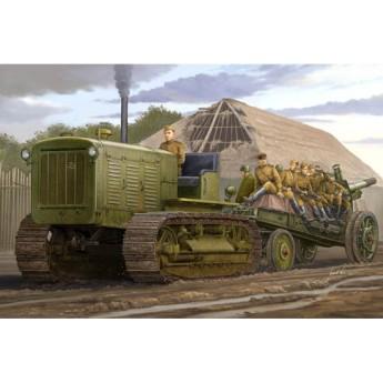 """Модель трактора ЧТЗ С-65 """"Сталинец"""" (1:35)"""