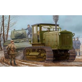 Модель трактора ЧТЗ С-65 с кабиной (1:35)