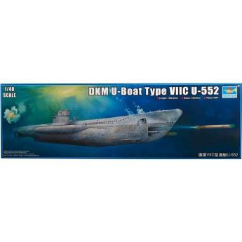 Подлодка DKM U-Boat Type VIIC U-552 (1:48)