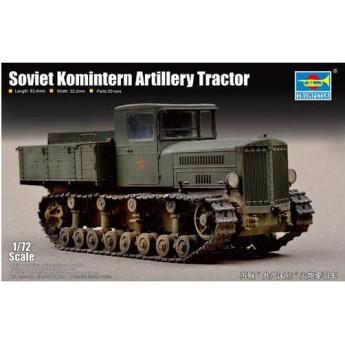 Модель тягач советский артиллерийский Коминтерн (1:72)