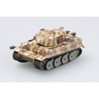 Easy Model 36212 Готовая модель танка Tiger 1 (Middle) - sPzAbt 508 батальон Италия 1944 г (1:72)