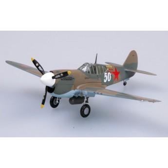 "Модель самолета P-40E ""Киттихаук"" 154-й ИАП, 1942 г. (1:72)"