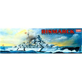 Линкор Bismarck (1:800)