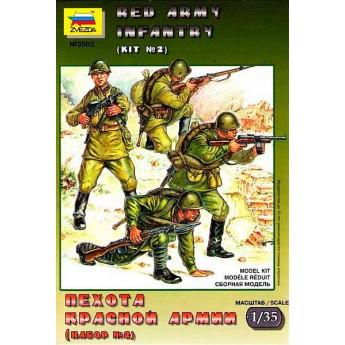 Пехота Красной Армии N2 (1:35)