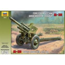 Звезда 3510 Пушка 122-мм гаубица М-30 (1:35)