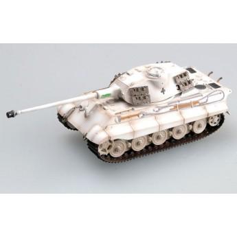 Easy Model 36299 Готовая модель танка Tiger II (башня Порше) Schwere Pz Abt 503 King Tiger (1:72)